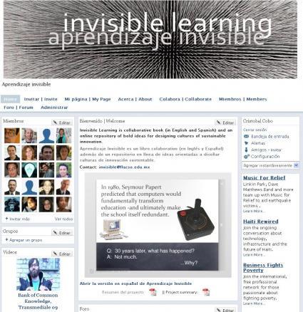 Aprendizaje Invisible es ahora una Red Social