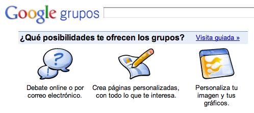 Google Grupos cierra en febrero de 2011
