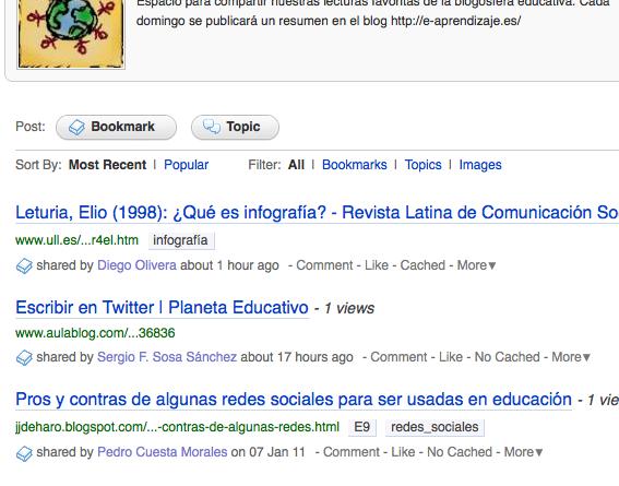 Primer resumen colaborativo de la Blogosfera Educativa [I]