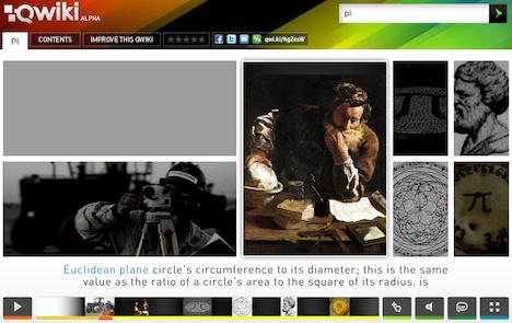 Qwiki, el buscador que nos ofrece resultados multimedia