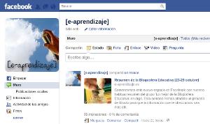 [e-aprendizaje] en facebook