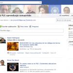 Grupo en Facebook: PLE, Aprendizaje Conectado