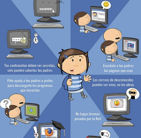 [Infografías] Seguridad en Internet para menores