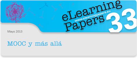 Nueva edición de eLearning Papers dedicada a los MOOC