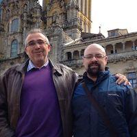 @dmelop y @balhisay en Santiago