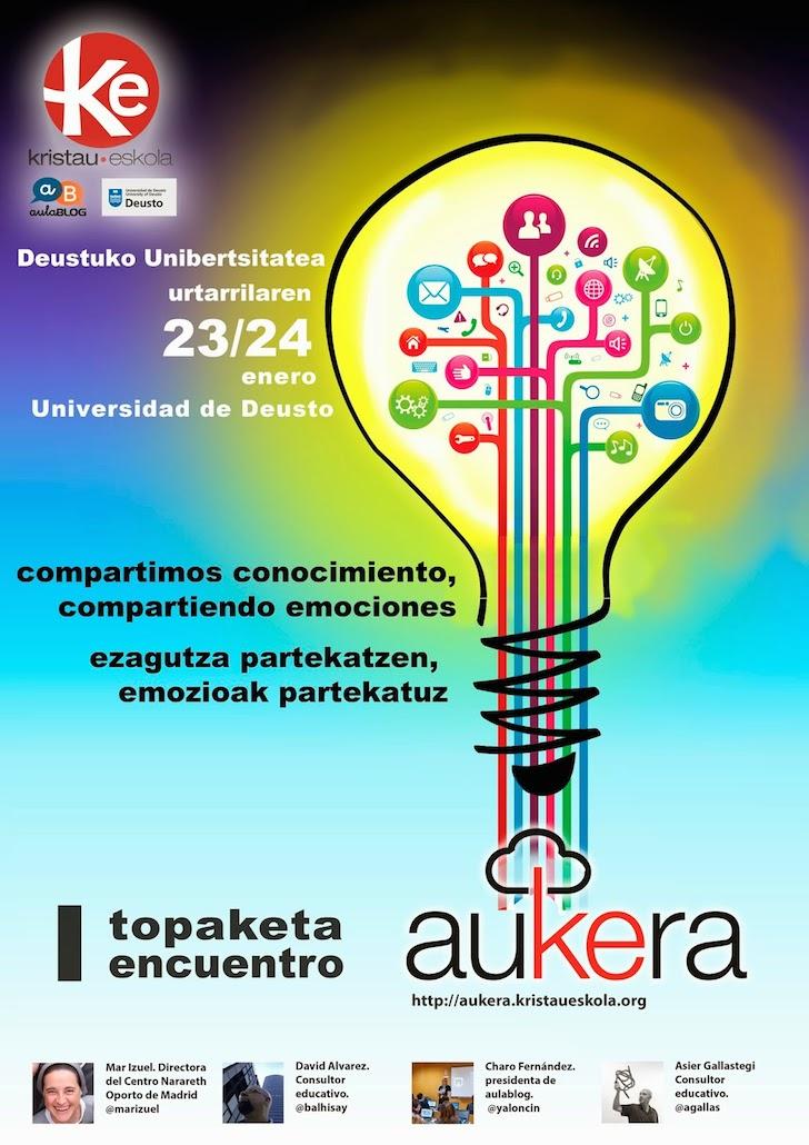 Cartel Encuentro aukera