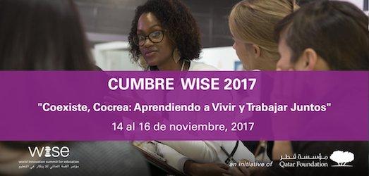 Coexistir, Cocrear, Aprender a Aprender… algunas reflexiones e ideas sobre #WISE17